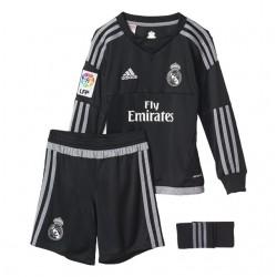 Mini Kit portero oficial 2015/16 Real Madrid CF. Adidas