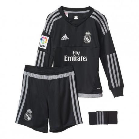 Kit portero 2015/16 Real Madrid CF. Adidas