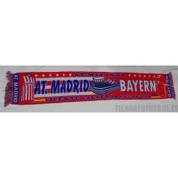 Bufanda Atletico- Bayern 2016