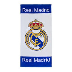 Toalla blanca Real Madrid