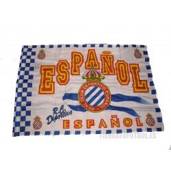 Bandera oficial R.C.Deportivo Espanyol de Barcelona