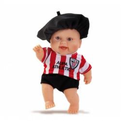 Muñeco bebé Athletic club de Bilbao