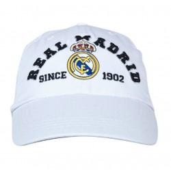 Gorra oficial Real Madrid Blanca Junior