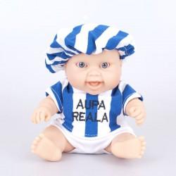 Muñeco bebé Real Sociedad
