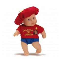 Muñeco bebé Selección España