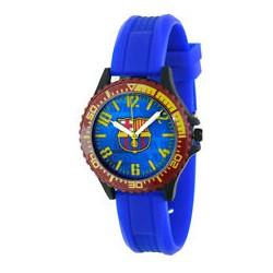Reloj cadete FC Barcelona Correa azul esfera azul