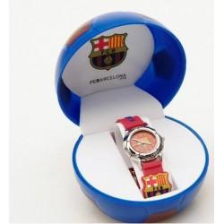 Reloj cadete FC Barcelona 3D granate