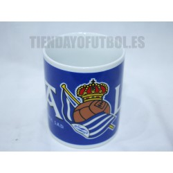 Taza Real Sociedad azul