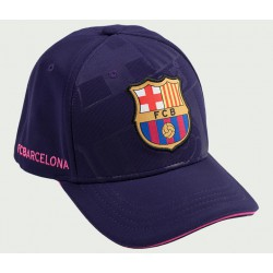 Gorra FC Barcelona JR. soccer lila