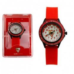 Reloj Sevilla CF. Correa roja