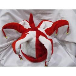 Gorros rojo y blanco picos