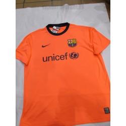 Camiseta 2ª oficial FC Barcelona Economica Salmón claro Nike