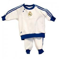 Chándal Bebe blanco Real Madrid CF
