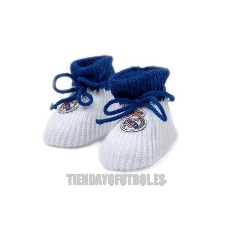 Patucos blancos del Real Madrid CF