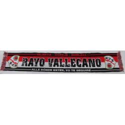 """Bufanda Rayo Vallecano """".....yo te seguire"""""""