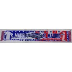 Bufanda semifinal de Champión Real Madrid - Atlético de Madrid