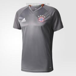 Camiseta Bayern Munchen 2016/17 Entrena. gris Adidas