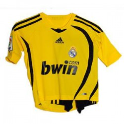 Kit portero amarillo-negro Real Madrid
