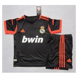 Kit portero negro-naranja Real Madrid