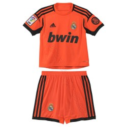 Kit portero naranja-negro Real Madrid
