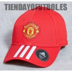 Gorra roja Manchester United Adidas