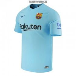 Camiseta 2ª Jr. FC Barcelona 2017/18 Nike Economi
