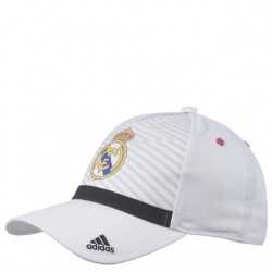 Gorra Blanca Real Madrid CF.