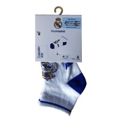 Calcetines Bebé Real Madrid. Pack de 3 pares.