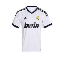 Camiseta oficial Real Madrid 2012- 2013 blanca Adidas .