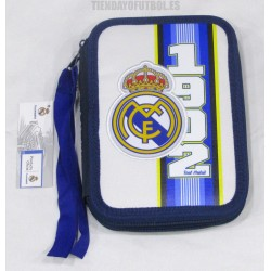 Estuche /plumier con material Escolar Real Madrid CF
