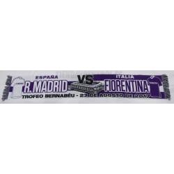 Bufanda Real Madrid- Fiorentina