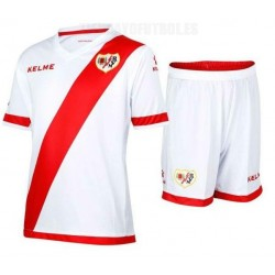 Kit oficial Jr 2015/16 Rayo Vallecano de Madrid Kelme
