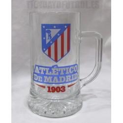 Jarra grande cerveza Atlético de Madrid
