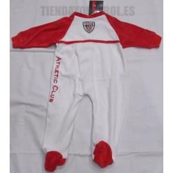 Pelele -pijama oficial Athletic Club de Bilbao blanco