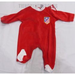 Pelele-pijama oficial Atlético de Madrid rojo