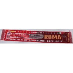 Bufanda del Atlético de Madrid-Roma
