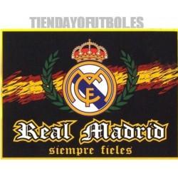 Bandera oficial Real Madrid CF Siempre fieles