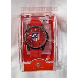 Reloj oficial Junior renza y esfera rojaAtlético de Madrid