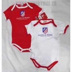 Body corto Pac de 2 Atlético de Madrid