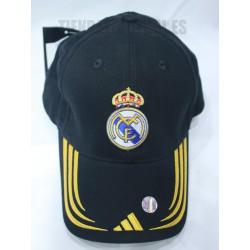 Gorra Negra Real Madrid CF. Adidas