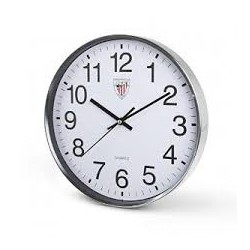 Reloj pared Plateado Athletic Bilbao