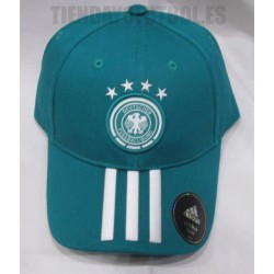 Gorra oficial de Alemania verde Adidas