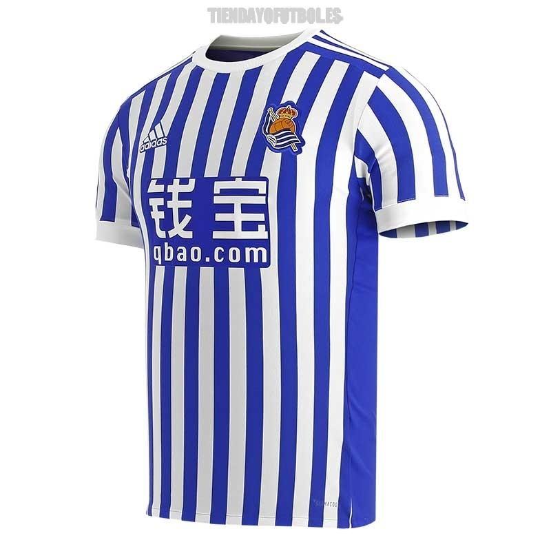 mostaza satélite Diagnosticar  Real sociedad Camisa oficial niño| Reala camiseta Junior Adidas | Adidas  camiseta oficial real a