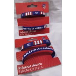 Pulsera silicona Atlético de Madrid