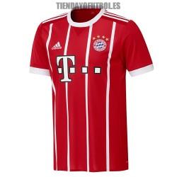 Camiseta Jr. Bayern Munchen 2017/18 Adidas