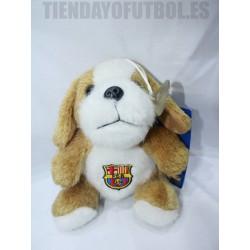 Peluche perrito oficial Futbol Club Barcelona