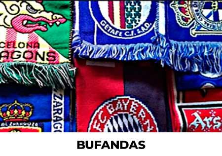 Bufandas Equipos de Futbol Oficiales